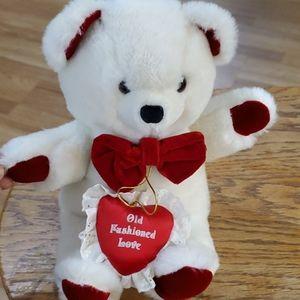 Applause plush love bear